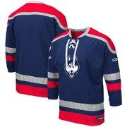 UConn Huskies Colosseum Big & Tall Mr. Plow Hockey Jersey Sweater - Navy
