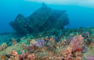 Ship wreck in Palm Beach, Florida