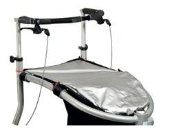 Trionic Nordic Walker Seatbasket rain cover