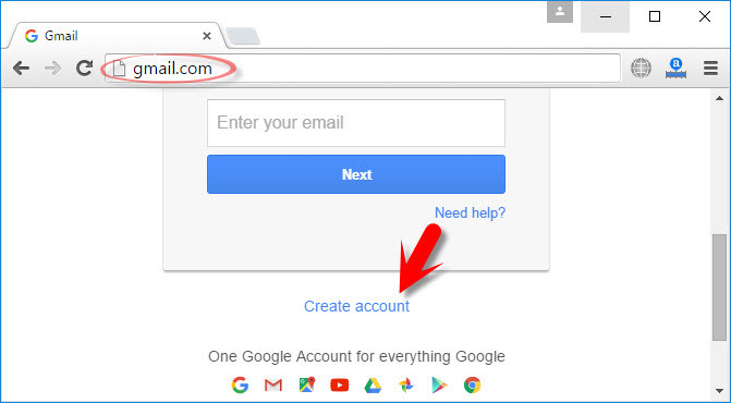 how to get an email account