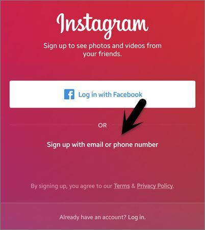 how to get a new instagram account
