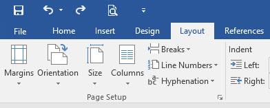 Print Page Setup