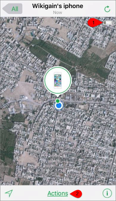 how to add a device to find my iphone