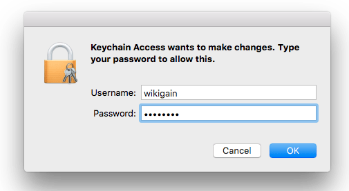 Enter Username & Password
