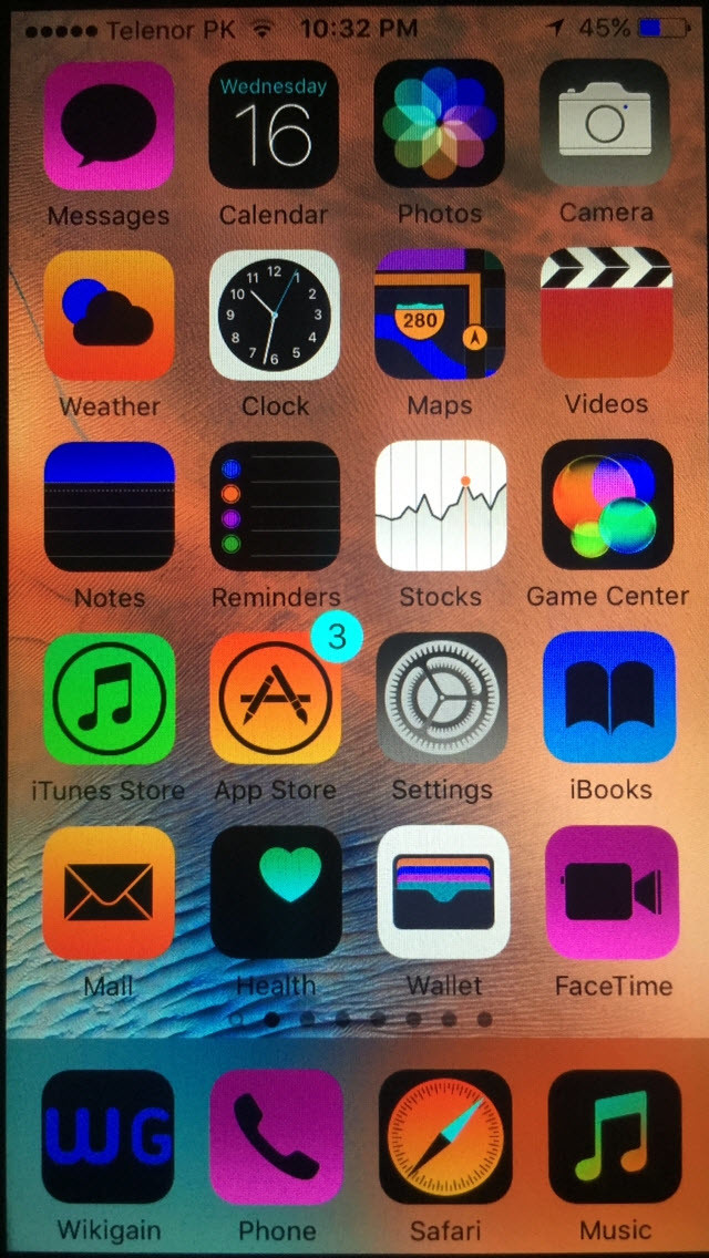 invert colors iphone how to invert ios devices screen colors wikigain 3579