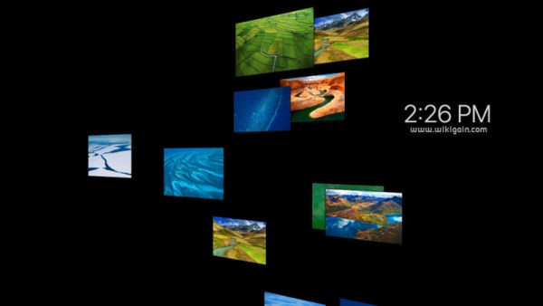 how to change your screensaver on mac
