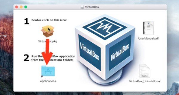 how to create virtualbox mac