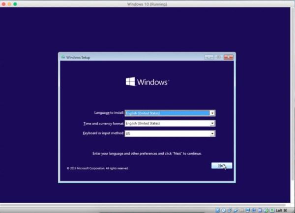 Installing Windows 10 on Mac using VirtualBox