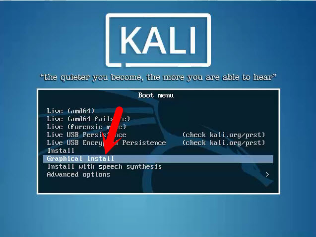 install kali linux on windows 8.1 virtualbox