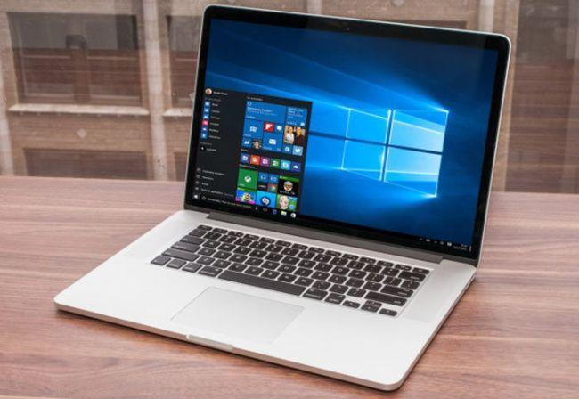 Installed Windows 10 on Mac OS