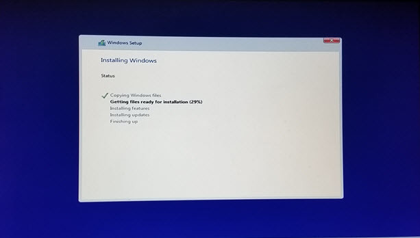 how to instal windows 10