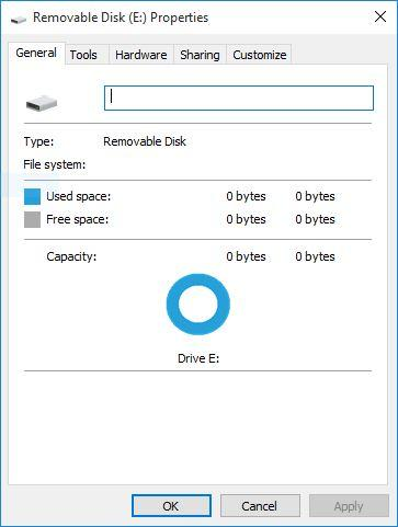 how to restore windows from a falsh drive