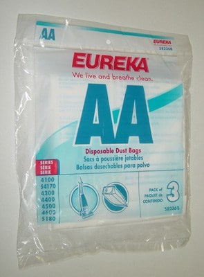 Eureka AA Bags - 3pk