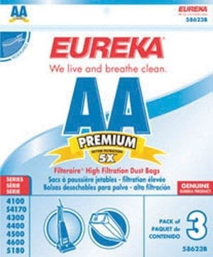 Eureka AA Filteraire Bags - 3pk
