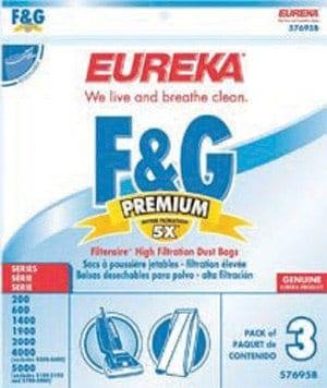 Eureka/Sanitaire F & G Filteraire Bags - 3pk