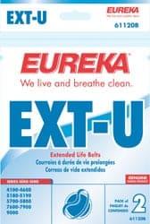 "Eureka/Sanitaire ""U"" Extended Life Belt - 2pkg"