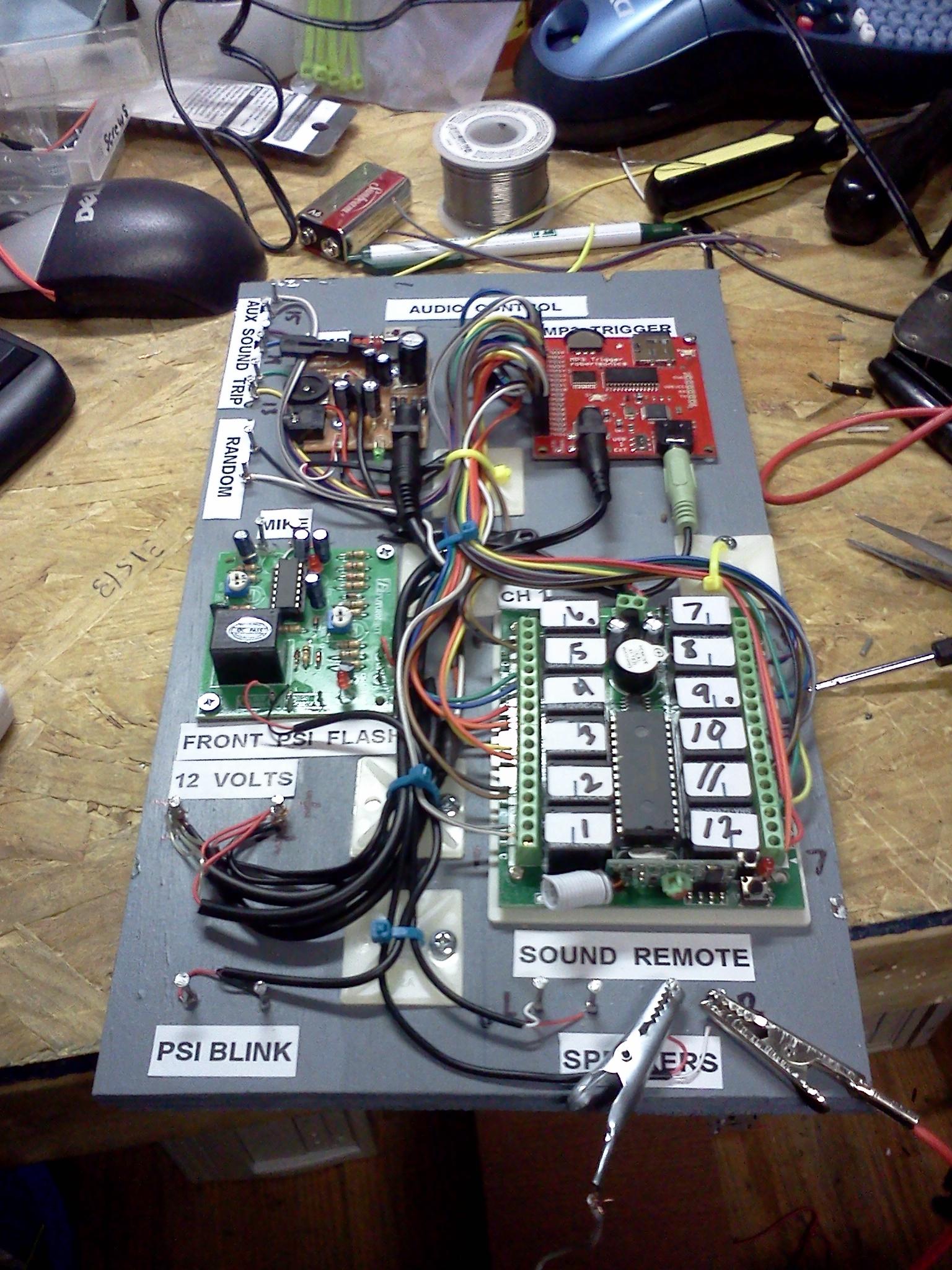 Interactive Circuit Board