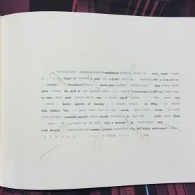 Abra artist's book