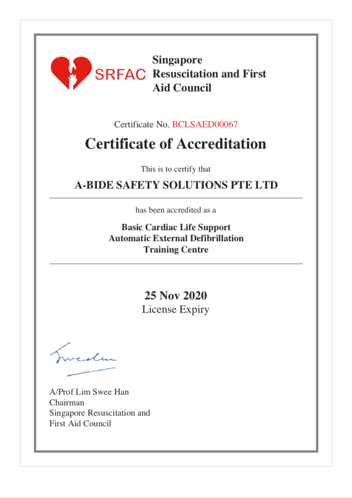 bcls aed accreditation