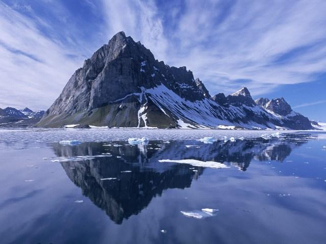 montagne-lac-glace