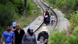 Profughi sulla ferrovia