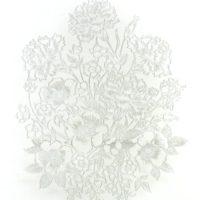 Flowers on Glass Laserbond