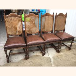 Brown Leather High Back Dining Chairs Hitachi Magic Wand Chair Room A Exports