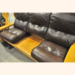 Leather Sofa Set 3 1 How Much Does A Flexsteel Cost With Oak Frame Exports