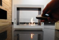 Free Standing Fireplace: ARCH Ecological & Design Double ...
