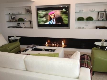 conseils d installation tv et cheminee
