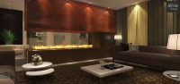 Water Vapor Fireplace for Hotel Restaurant and Public
