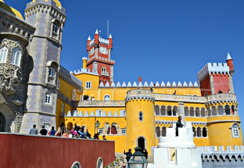 description history of Pena National Palace, Sintra