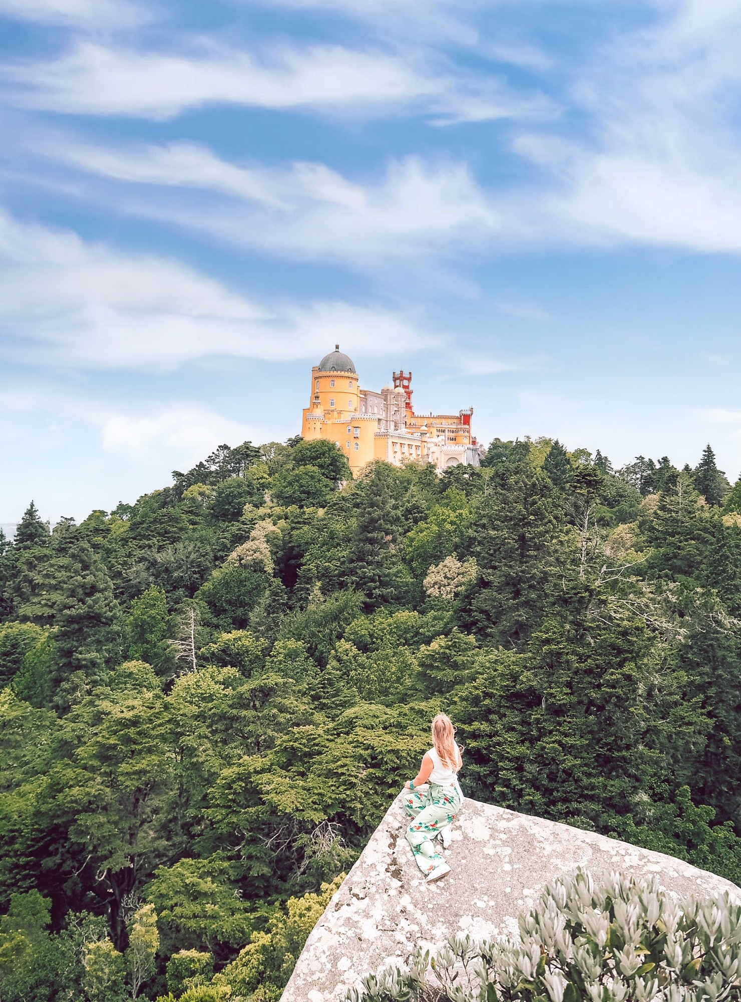 Pena National Palace best angle view