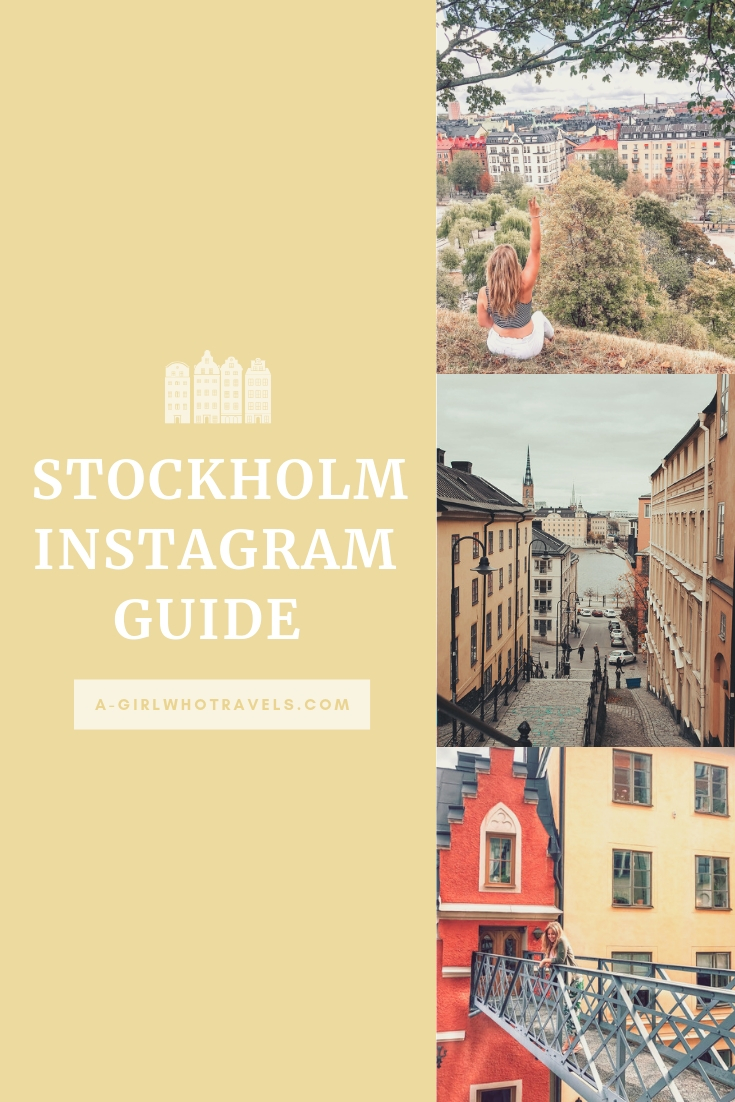 Instagram guide to Stockholm, Stockholm's most Instagrammable