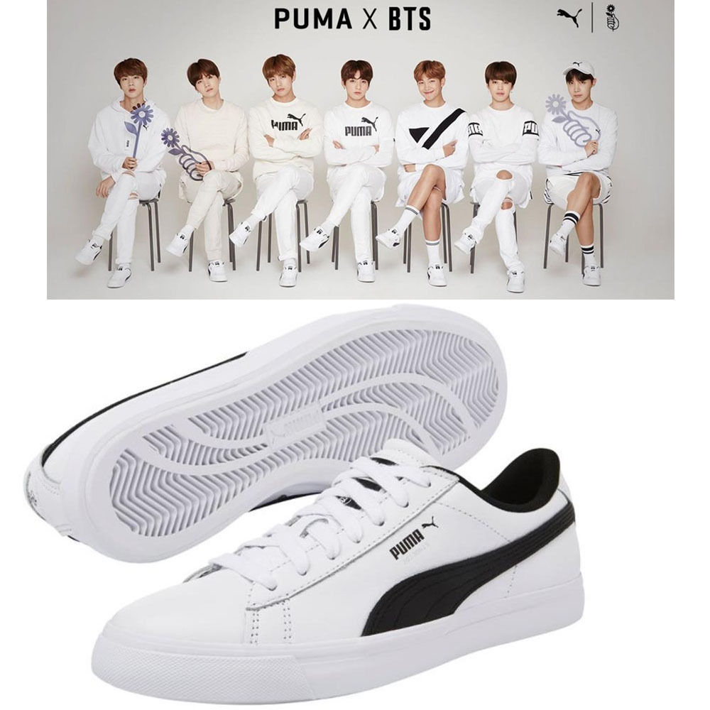 PUMA BTS COURTSTAR SHOES. puma x bts shoes