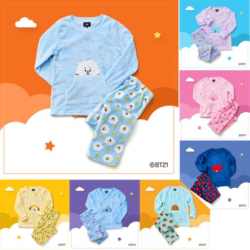 NEW BT21 Pajamas