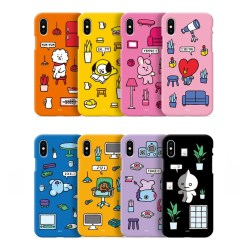 BT21 COLOR SOFT JELLY CASE ROOMIES SERIES