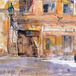 Cai Guo-Hua Watercolor Works