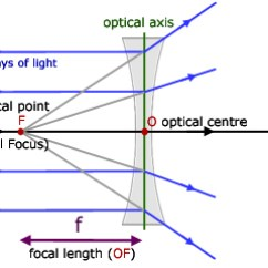 Lenses For Ray Diagram Physics Gm Charging System Wiring Concave Geometrical Optics From A Level Tutor Lens