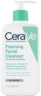 CeraVe Foaming Facial Cleanser - A-Lifestyle