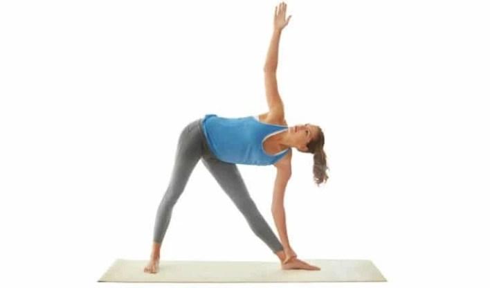 Triangle pose - A-Lifestyle