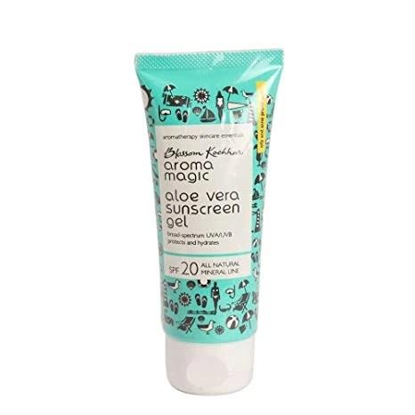 Aroma Magic Aloe Vera Sunscreen Gel SPF 20