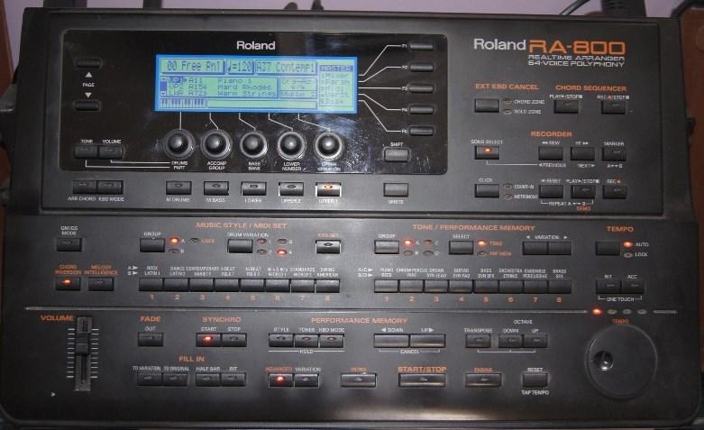G800 Roland G600 RA800 Roland