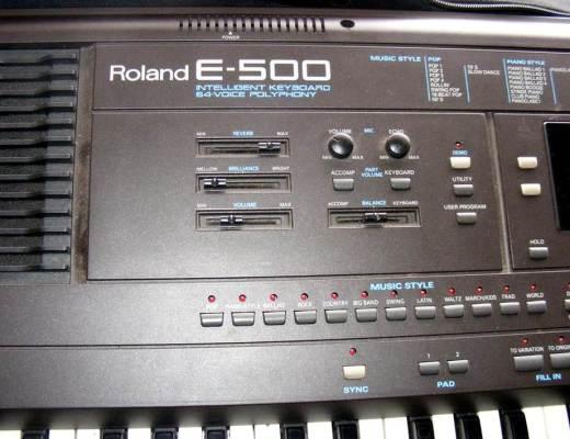 Roland E600 styles, Roland E500, Roland E300, Roland KR-570