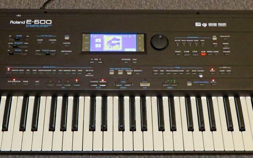 Roland E600, Roland E500, Roland E300, Roland KR-570, Roland E600 styles, E600 styles, E-600 styles