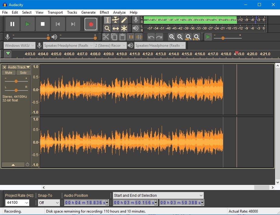 Audacity® : the free cross-platform audio software - MakeMusic!