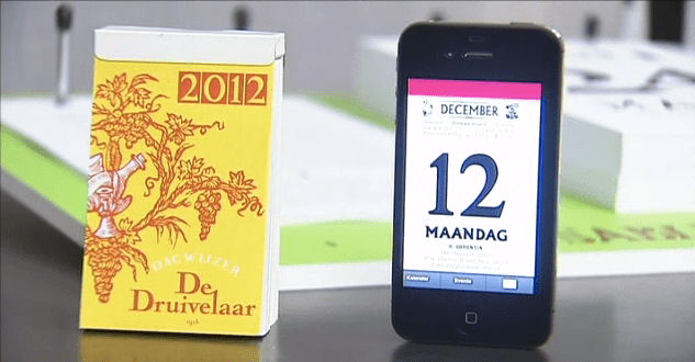 Druivelaar digitaal one idea per day
