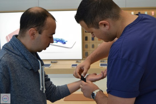 De Apple Watch kan je zeker uitproberen