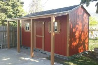 A Backyard Shed Makes Spring Landscaping Easier | A-Shed USA