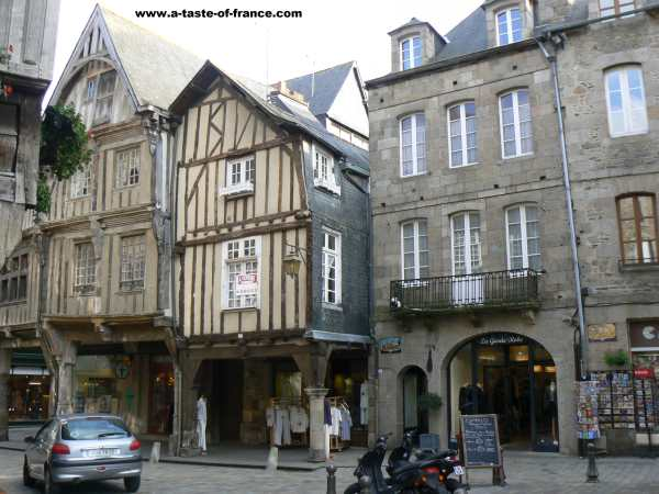 Dinan France Travel Guide Old Town In Brittany